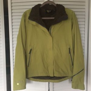 Mountain Hardwear Conduit soft shell coat green M